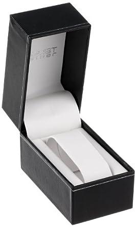 August Steiner Women s AS8110YG Swiss Quartz Gold-tone Grey Leather Strap Watch