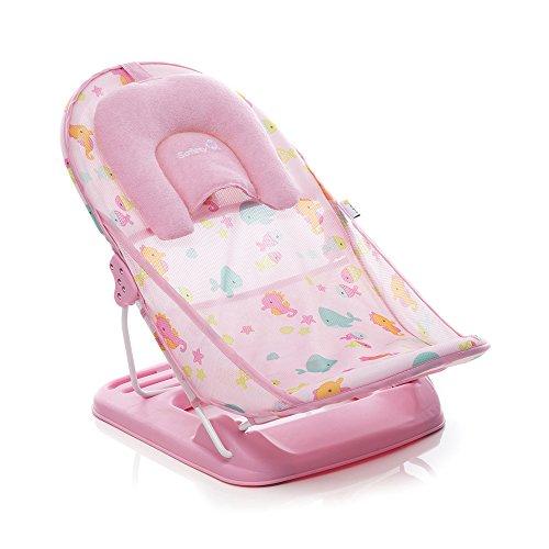 Suporte para Banho Baby Shower Safety 1st, Rosa