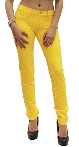 Skinny Jeans Lemon Tipo Pantaloni Elasticizzati 54 Taglia Leggins Da A Donna Modello 36 q66T01