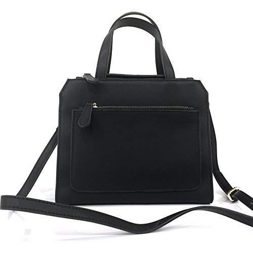 Bags Leather Pure Handbag Black Shoulder Leather Top Womens Handmade Genuine Quality qEa4xYw