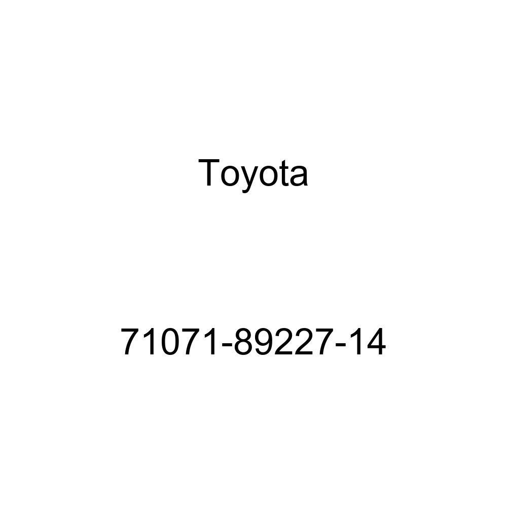 TOYOTA Genuine 71071-89227-14 Seat Cushion Cover