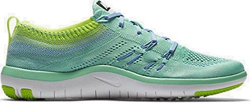 quality design f6fa7 c7d54 Nike Women s Free Focus Flyknit Training Sneakers (7 B(M) US, Green  Glow Glacier Blue-Volt)