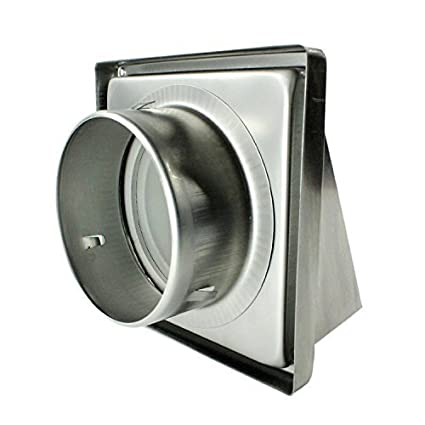 Hon/&Guan 5 Round Adjustable Air Vent Outlet, Wall Vent