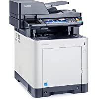 Kyocera 1102PC2US0 ECOSYS M6535cidn Color Multifunctional Printer, Fast Output Speed of 37 Pages per Minute in Color and Black, 300 Sheet Paper Capacity, Fax and Network Interfaces