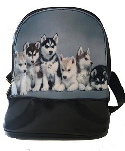 Huskies a Petit imprimé dos sac qFWIxOBwXH