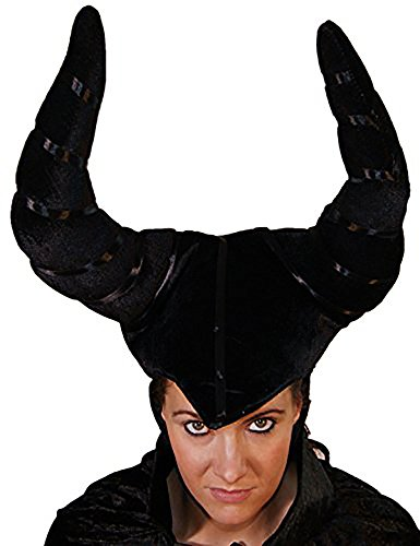 [Fairytale-Halloween-Scary-Magnificent-EVIL FAIRY QUEEN- Horned headdress] (Magnificent Movie Costume)