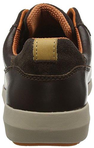 Clarks Triman Lo Gtx, Botines para Hombre Marrón (Dark Brown Leather)