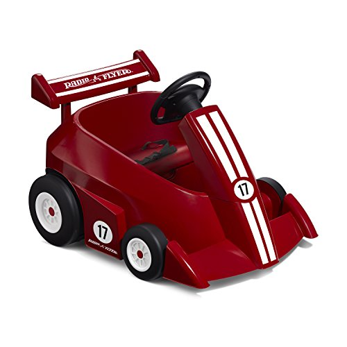 Radio Flyer Grow with Me Racer 6V Remote Control Car