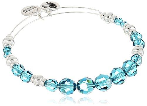 Alex and Ani Swarovski Beaded Sky Expandable Wire Bangle Bracelet