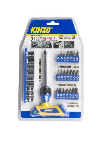 KINZO Bit und Socket Tool Set 31 Stück, 54206