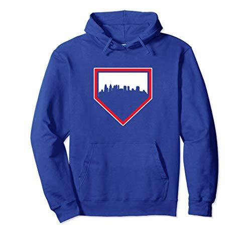 (Vintage Philadelphia Baseball Philly Home Skyline Hoodie)