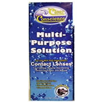 top best Clear Conscience Multi-Purpose Solution for Contact Lenses