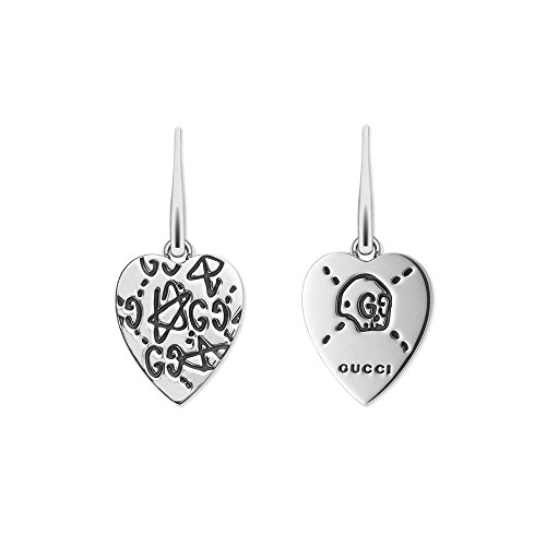 Latest Fashion Jewelry Trend. Gucci Silver Earrings Ghost pendants YBD45723100100U #jewelrytrends