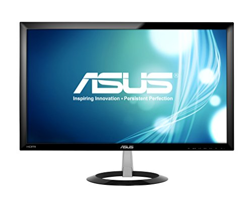 ASUS 23-inch Full HD Wide-Screen Gaming Monitor [VX238H] 1080p, 1ms Rapid Response Time, Dual HDMI, Built in Speakers, Low Blue Light, Flicker Free, ASUS EyeCare