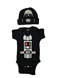 Star Wars Baby Darth Vader Bodysuit Set With a Hat