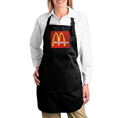 USA MC DONALDS LOGO M Kitchen Aprons For Women Men,Cooking Apron,bib Apron With (Mc Donalds Costumes)