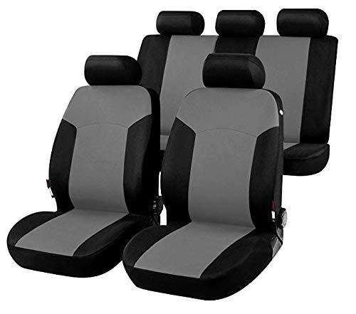 sedili Posteriori sdoppiabili D01S0599 2014 - in Poi bracciolo Laterale compatibili con sedili con airbag rmg-distribuzione Coprisedili per Qashqai Versione