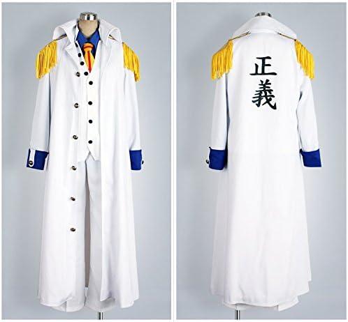 One Piece Marines Admiral Borsalino Admiral Kizaru Cosplay Costume Cosonsen
