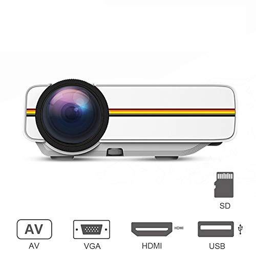 (OSB STYLE Mini Projector Portable Video for Home Theater Cinema Movie Projector with USB HDMI VGA AV)