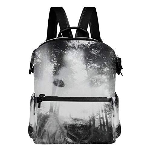 Laptop Backpack Computer Bag College School Bookbag Business