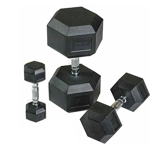 Paire d'haltères hexagonales 50kg