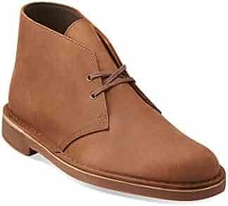 CLARKS Men's Bushacre Chukka Boots Beeswax 9 M