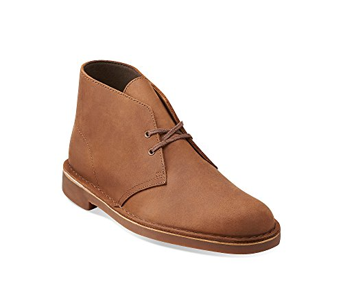 CLARKS Men's Bushacre Chukka Boots Beeswax 10.5 W by CLARKS