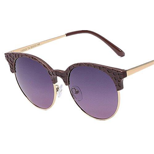al gato aire Protección de ULTRAVIOLETA para Gafas y lentes polarizadas de gafas de las los del libre sol mujeres conduce sol la las playa verano agraciadas que de Púrpura viajar Púrpura de ojos Color YxwO0w1Bq