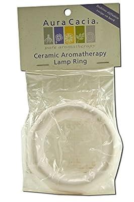 Aura Cacia Accessories Octagon Ceramic Lamp Ring, Pack of 3