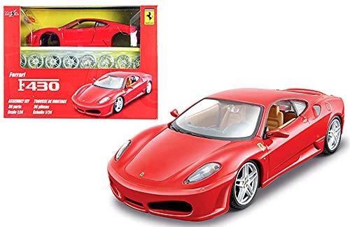 HCK Ferrari F430 - Assembly Model Kit Diecast Toy Cars 1:24 Scale