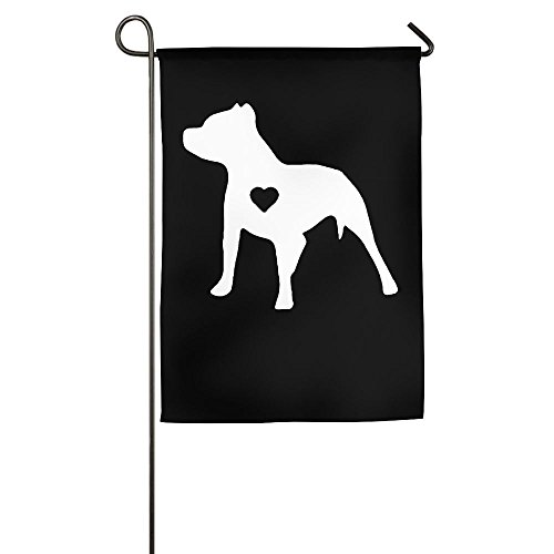 - MM-FLAG Love Pitbull Home Garden Flag Decorative For Indoor Outdoor Welcome Family Flag
