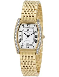 Charles-Hubert, Paris Women's 6759 Classic Collection Gold-Plated Watch