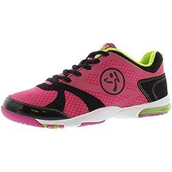 Zumba Women's Impact Max Sneaker,Fuchsia,5.5 M US
