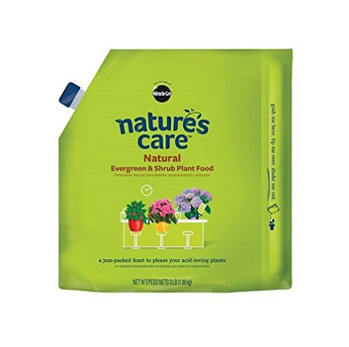 Scotts Miracle Gro 100129 Nature's Care Natural Evergreen and Shrub Food, 3-Lbs. - Quantity 1