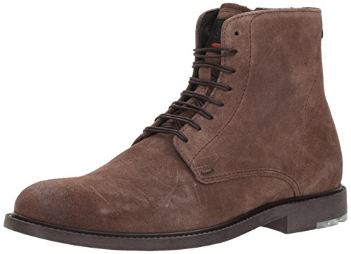BOSS Orange by Hugo Boss Men's Cultural Roots Suede Half Fashion Boot, Light Pastel Brown, 9 M - Boss Boots Orange Hugo