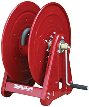 Handcrank Air // Water Reel witho CA33106 L 1000 psi 6710 Reelcraft 0.75 x 50