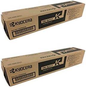 Black TK6329 OEM Toner Cartridge 2 Pack Kyocera 1T02NK0US0 TK6327 35000 Page-Yield Per Ctg