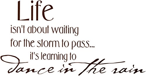 Waiting Storm Learning Sticker Living