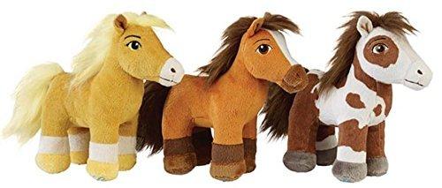 Breyer Spirit Riding Plush: Spirit, Boomerang and Chica Linda (All 3 Horses)