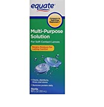 Equate Sterile Multi-Purpose Contact Lenses Solution For Soft Contact Lenses