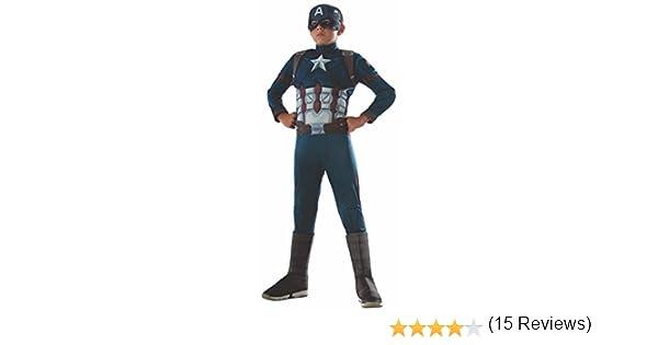 Rubies Capitan America Civil War Estreno En Cines 29 Abril 2016 - Disfraz Capitan America Premium CW