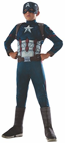 (Rubie's Costume Captain America: Civil War Deluxe Captain America Costume,)