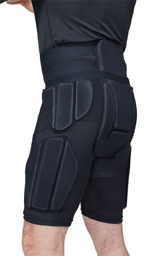 Bern Adult Adjustable Tailbone Protector Pad (Black, Medium/Large)