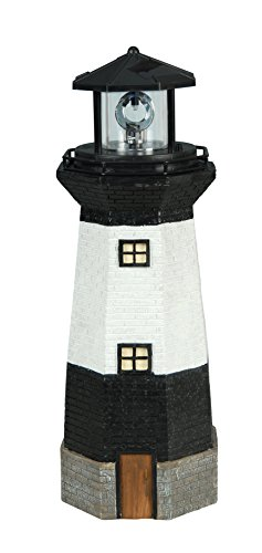 Moonrays 95961 Solar Rotating LED Lighthouse Light