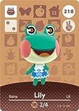Lily - Nintendo Animal Crossing Happy Home Designer Amiibo Card - 218 by Nintendo