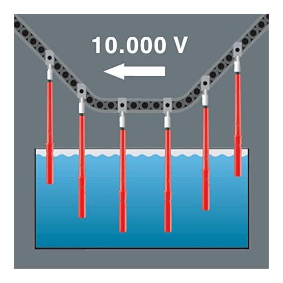 Wera - 5347108001 347108 Kraftform Kompakt VDE 60 i/62 i/68 i/18 Insulated Blade Set 413iMkCu5BL. SS555