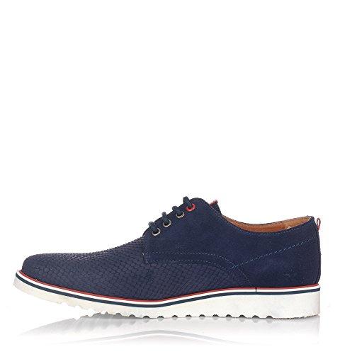 NAUTIC BLUE 1800, Chaussures de Ville à Lacets Pour Homme Bleu Marine