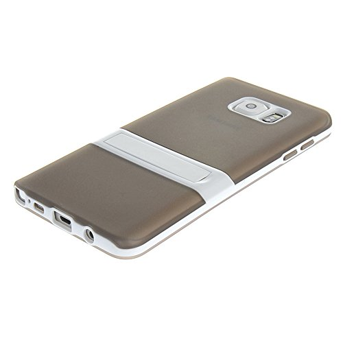 MEIRISHUN Caja del Teléfono Celular Caso Funda , Nuevo Soft TPU Protector Case Funda,Simple Soft Back Cubrir Contraportadapara Samsung Galaxy Note 5 [Azul ] Gris
