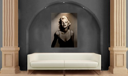 Amazon.com: Marilyn Monroe Black and White Canvas Giant Wall Art (30 ...