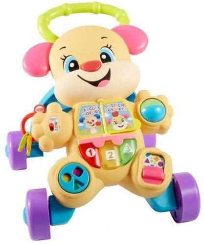 Fisher-Price Laugh & Learn Smart Stages Learn with Sis Walker (Best Push Toys For Walking)